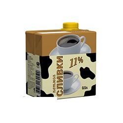 Сливки Петмол 11% 0,5л