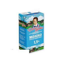 Молоко Домик в Деревне , жирность 1,5%, 950 г