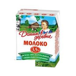 Молоко Домик в деревне 3,5% 0,2л 27шт/у