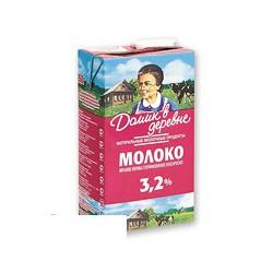 Молоко Домик в Деревне , жирность 3,2%, 950 г