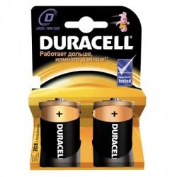 Батарейки Duracell D/373/LR20, 1.5В, алкалиновые, 2 шт. в блистере