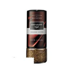 Кофе растворимый Davidoff Rich Aroma, 100г, сублимированный в стеклянной банке
