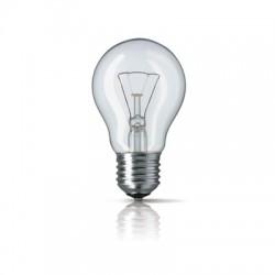 Лампа накаливания Philips, стандартная прозрачная, 75Вт, цоколь E27
