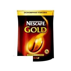 Кофе растворимый Nescafe Gold, 150г в пакете, сублимированный