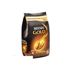Кофе растворимый Nescafe Gold сублимированный 750г пакет