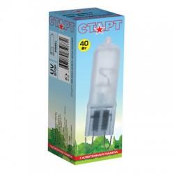 Лампа галогенная капсульная Старт, 40Вт, цоколь G9, 220В, тип G9