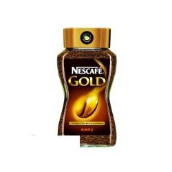 Кофе растворимый Nescafe Gold, 190г, сублимированный в стеклянной банке