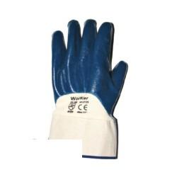 Средство защиты рук Перчатки с неполным нитрил.покрытием, манжета крага