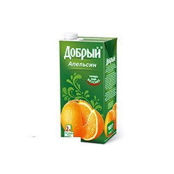 Нектар Добрый апельсиновый 2 л