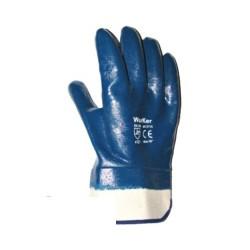 Средство защиты рук Перчатки с полным нитрил.покр., манжета крага