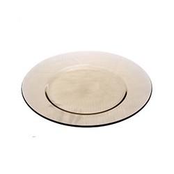 """Тарелка обеденная """"Директор Эклипс"""" 24,6 -см (02246/Н0075, дымчатая)"""