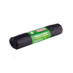 Пакеты для мусора Attache (ВД, объем 60л, 20 штук в рулоне)