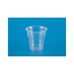 Стакан одноразовый пластик. 0,1л, прозрачный, ПП, Эконом, 100шт./уп.