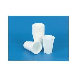 Стакан одноразовый для холодных и горячих напитков (0,20л, белый, ПП, 100 шт./уп)