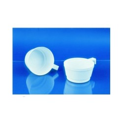 Чашка одноразовая хол/гор (0,14л, белая, ПС, 50шт/уп)
