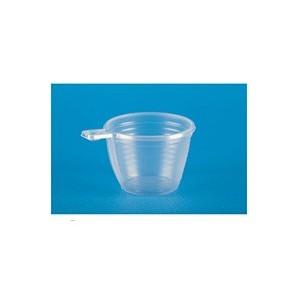 Чашка одноразовая для хол/гор, прозрачная (ПП, 0,18л, 50шт/уп)