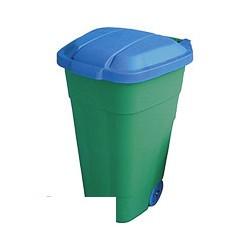 Контейнер мусорный бак пластик 110л на колесах