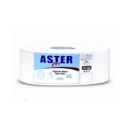 Бумага туалетная д/держ.Aster 2-сл.341202 320м