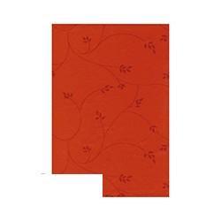Скатерть бумажная Aster Creative (120х200см, однослойная, красная)