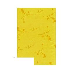 Скатерть бумажная Aster Creative (120х200см, однослойная, желтая)