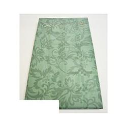 Скатерть бумажная Vitto Prestige 120*180 см зеленая с полимер.покр