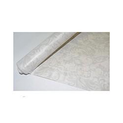 Скатерть бумажная Vitto Prestige 1,2*7 м белая рулон с полимер.покр