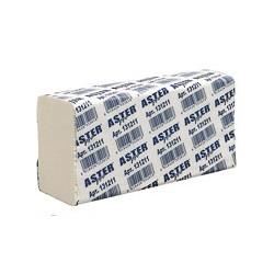 Полотенца бумажные для держателей Aster Pro 131211 Z (белые с тиснением, 2-слойные, 25-150 листов в упаковке)