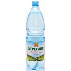 Вода питьевая газированная Берегиня 0,5 л (12 шт/уп)