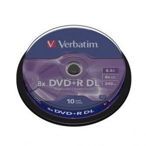 Носители информации Verbatim DVD+R Double Layer43666