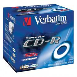 Носители информации Verbatim CD-R DL+ Crystal43327