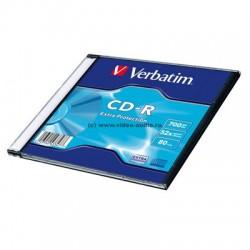 Носители информации Verbatim CD-R 80 52x DL SL/1