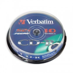 Носители информации Verbatim CD-R DL43437