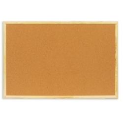 Доска пробковая Attache 60х90 см, деревянная рама Арт. 51859