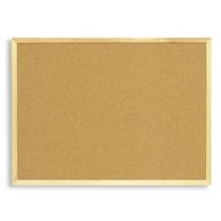 Доска пробковая Attache 45х60 см, деревянная рама  Арт. 51858