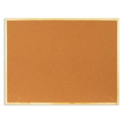 Доска пробковая Attache 90х120 см, деревянная рама  Арт. 51860