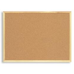 Доска пробковая Attache 30х45 см, деревянная рама Арт. 51857