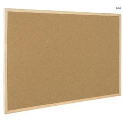 Доска пробковая Bi-Office, 45х60 см, деревянная рама  Арт. 218301