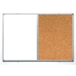 Доска комбинированная Attache 90х120 см, алюминиевая рама  Арт. 391347