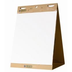 Бумага для флипчартов Bi-Office 50x58.5 см белая 20 листов (80 г/кв.м, раздвижной блок)  Арт. 270007