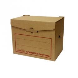 Короб архивный микрогофрокартон бурый 415x330x270 мм  Арт. 136908