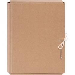 Папка архивная из переплетного картона 4.5 см с завязками  Арт. 321687