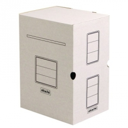 Короб архивный Attache микрогофрокартон белый 320x200x256 мм  Арт. 131305