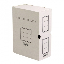 Короб архивный Attache гофрокартон белый 320x100x250 мм  Арт. 131304