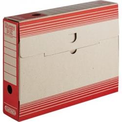 Короб архивный Attache картон красный 320x75x255 мм  Арт. 390817