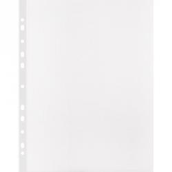 Файл-вкладыш Attache Selection А4+ 100 мкм прозрачный рифленый 50 штук в упаковке Арт. 328394