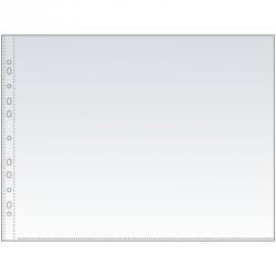 Файл-вкладыш Attache А3 35 мкм гладкий прозрачный горизонтальный 50 штук в упаковке Арт. 166833