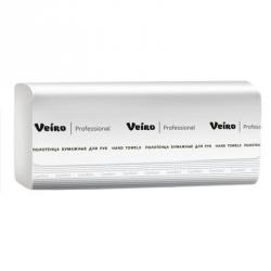 Полотенца бумажные листовые Veiro F2 Comfort KZ202 Z-сложения 2-слойные 21 пачка по 200 листов