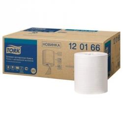 Протирочная бумага в рулонах Tork M2 1-слойная (белая, 6 рулонов по 275 метров)