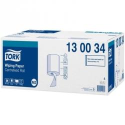 Протирочная бумага в рулонах Tork M2 1-слойная (белая, 6 рулонов по 165 метров)