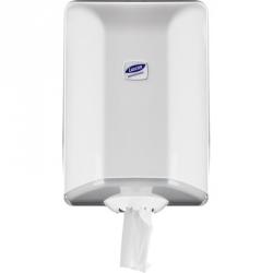 Держатель для рулонных полотенец с центральной вытяжкой Luscan Professional пластиковый белый
